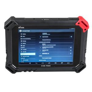 China XTOOL X100 PAD 2 II Car Key Programmer Support Oil Reset / Odometer Adjustment on sale