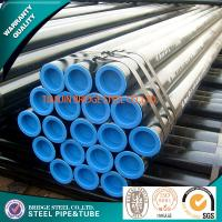 Quality JIS G 3452 Black Painted Mild Steel Tube Round Q235 ASTM A500 DIN EN 10219 for sale