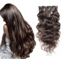 Quality Loose Wave / Spring Curl European Human Hair Extensions Deep Wave for sale