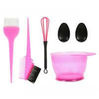 Quality Anti Static Hair Coloring Accessories Easy Clean Plastic Material Customized Logo for sale
