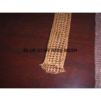 """2 """" Width Knitted Copper Wire Mesh Double / Multi - Filament Durable And Long Service Life"""