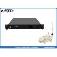 Quality 1.5U Vehicle Mounted HD COFDM Receiver 1080P Wireless AV Receiver Real-time Transmission for sale