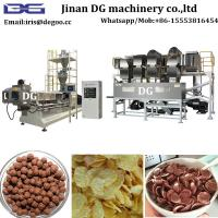 Quality Maize Whole grain DG75 200kg/h cereal corn flake food extruder machine factory importer China supplier for sale