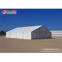 Quality ABS Solid Wall PVC Roof Big White Tents For Weddings UV Resistant Eco Friendly for sale