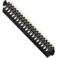 Quality WCON Female 1.27 Mm Pin Header Dual Row SMT Pin Header 1.0AMP for sale