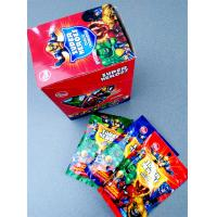Quality Super heroes powder candy with poker healthy and funny for sale