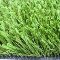 Quality Landscape green synthetic football grass / artificial grass lawn for sale