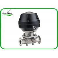 Quality Professional Hygienic Diaphragm Actuator Valve Mushroom Valves Spring Return / Double Acting for sale
