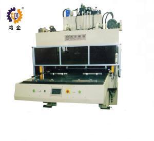 Quality Servo Four Column Hydraulic Die Cutting Machine With Large Work Tab for sale