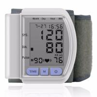 Buy cheap LCD Digital Home Automatic Wrist Blood Pressure Pulse Sphygmomanometer and from wholesalers