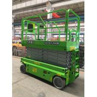 China Hydraulic Scissor Lift Working Height 12m Mobile Elevate Work Platform For Airport on sale