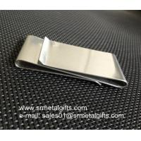 Quality S.S. Double-Sided Smart Money Clip Credit Card Holder For Men for sale