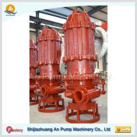 China 12 Horizontal Submersible slurry pump with cutter on sale