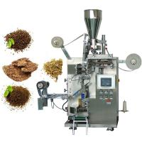 China Auto Round Bag Tea Sachet Packing Machine SUS 304 Stainless Steel Material on sale