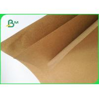 Quality 170gsm 450gsm FSC Certification Recycled Pulp Brown Kraft Paper For Packing for sale