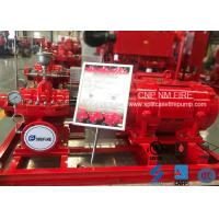 Quality 3000GPM 125PSI Single Stage Double Suction Centrifugal Pump For Firefighting for sale