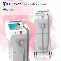 Quality 2016 hottestOEM ODM design 20-70J/cm2 beauty equipment 808nm diode laser hair removal/ permanent hair reduction machine for sale