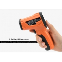 Quality Digital Thermometer Smart Sensor Infrared Thermometer laser with LCD for industrial and domestic use for sale