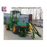 Quality Hydraulic Transmission Sugar Cane Harvester , 4 Wheel Driving Agriculture Farm Machinery for sale