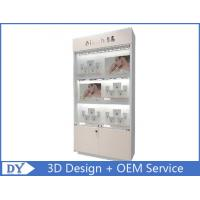 Buy Custom Modern Wood Glass Jewelry Store Fixtures / Jewellery Shop Decoration at wholesale prices