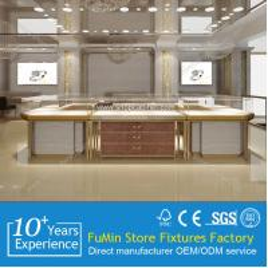 Quality Jewelry display with modern design jewelry showcase for sale