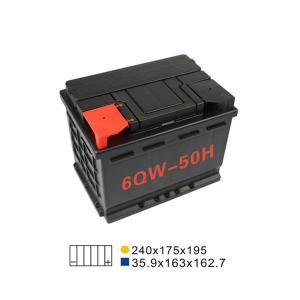 Quality 50AH 20HR 6 Qw 50H Lead Acid Car Start Stop Battery Maintenance Free Automotive Battery for sale