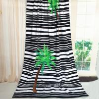 Quality White Striped Huge Beach Towel for sale