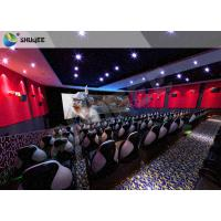 Quality Amusment Park Special Effects Electric Movie Theater Motion Seats 7D 9D 12D XD Cinema for sale