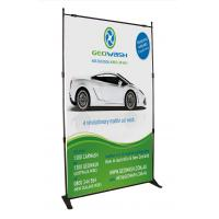 Quality Advertising Outdoor Adjustable Banner Stands Digital Printing Heavy Duty for sale