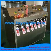 China Fruit Flavoured Carbonated Soft Drinks/Soda Pop/mineral water pouch filling packing machine on sale
