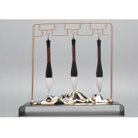 Quality Stainless Steel Shop Window Displays Accessories Brush Pen Display Stands for sale