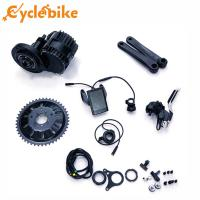 Buy cheap 48v 1000w Electric Bike Mid Motor Chain Wheel 46T BB 68mm /100mm , Mid Drive Motor Kit from wholesalers
