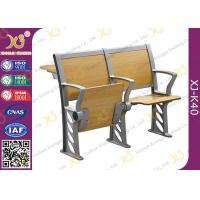Quality Folded Three Person College Desk And Chair Set For Student for sale