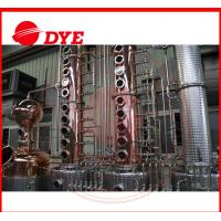 Quality 300 Gallon Alcohol Distillation Column With Stainless Steel 304 Still Pot for sale
