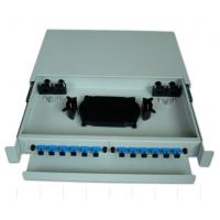 Quality SF-FPP004: Sliding1U 12Core Fiber Optic Patch Panel for sale