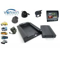 Quality 4G Mobile AHD Recorder 1080P / 720P Car DVR Black Box GPS with 4CH Camera for sale