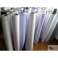 Quality Flex Banner Polypropylene Woven Fabric 0.51mm Thickness , Fire Retardant for sale