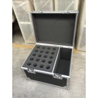 Quality Customized Microphone Flight Case / Multiple Plwood Material Tool Box Case for sale