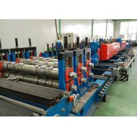 Quality Perforted Type Ladder Cable Tray Roll Forming Machine Chain or gear box Driven system for sale