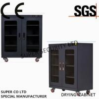 Quality LED Display Desiccant Electronic humidity controlled cabinet With 435L for sale