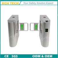 Quality Half Height Single Pole Pedestrian Access Control Swing Barrier Turnstile Gate for sale
