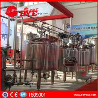 Quality CE Approved Commercial Beer Brewing Equipment Electric / Steam / Directing Hearting for sale