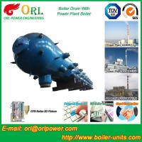 Quality High Pressure Coal Boiler Mud Drum Longitudinal With Fire Prevention for sale