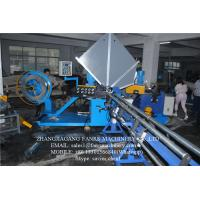 Quality Automatic Spiral Duct Machine With Steel Belt / Fixed Moulds for sale