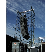 Buy cheap Mobile Roof System Church Construction Layher Scaffold from wholesalers