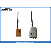 Quality 90g Lightweight FPV AV Wireless Transmitter 100-150km Wireless Video Transmitter and Receiver Analog for sale