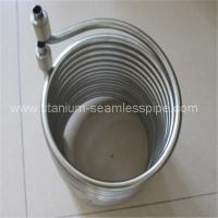 China Stainless steel coil for heat exchange/  titanium coil for heat exchange on sale