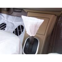 Quality handbraker cover, car seat cover, disposable cover, pe car foot mat, gear cover for sale