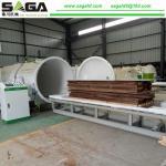 Quality Kiln Drying Wood Machine Timber Seasoning Plant From SAGA Machinery for sale