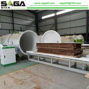 High Frequency Vacuum Dryer Wood Drying Chamber SAGA Machinery